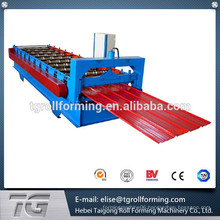 Nigeria type glazed tile making equipment, roofing sheet roll forming machine