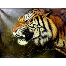 100% Hand Painted Tiger Oil Painting
