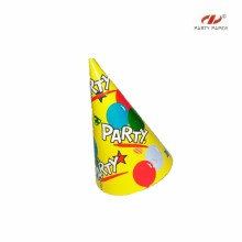 New Coming Colorful Paper Hats With Exquisite Patterns