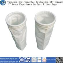 A fábrica fornece diretamente o saco de filtro da poeira do poliéster para a indústria da metalurgia com amostra grátis
