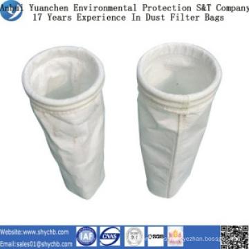 Bolso de filtro del polvo del poliéster de la fuente directamente de la fábrica para la industria de la metalurgia con la muestra libre