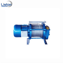 Products Power type KCD electric winch 2 ton