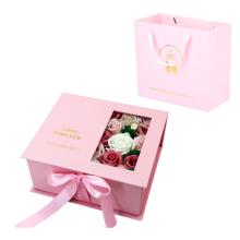 Gefälschte Blumenbox Schmuck Geschenkbox Dekoration Leer