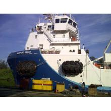 Protection pneumatique en caoutchouc pour bateaux Yokohama