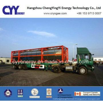 Récipient de réservoir de dioxyde de cabochon d'azote d'azote d'argon d'oxygène de T75 de prix bas et de haute qualité