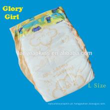 China Melhor fralda do bebê usado com sono com super absorvente fraldas fábrica