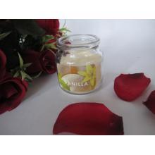 Vanille duftende meistverkaufte Glaskerze