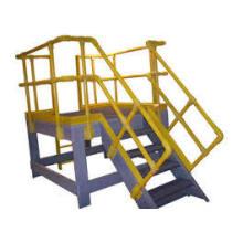 Corrimão da escada de FRP / material de construção do Guardrail / fibra de vidro
