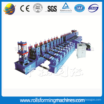 Autobahn-Geländer-Stahlblech-Roll Formmaschine