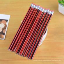 fábrica directa de madera HB lápiz negro