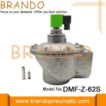 Válvula de pulso solenóide de ângulo direito de 2-1 / 2 polegadas DMF-Z-62S