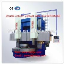 CNC Tour vertical double colonne C5250 / CK5250 en stock