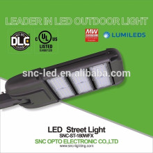 Dispositivo elétrico claro de rua do diodo emissor de luz da eficiência elevada 180W do preço de fábrica com UL DLC aprovado