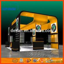 gran stand de exposición de diseño de stand de exposición portátil sistema de stands de shanghai
