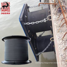 OEM permitted cell rubber fender bumper for large wharf