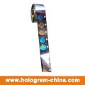 Goldenes Sicherheits-Hologramm-Heißfolienprägen