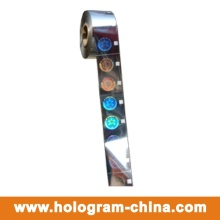 Custom Safety 3D Laser Hologramme Hot Foil Stamping