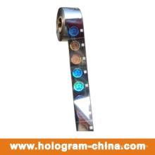 Estampage à chaud de feuille de laser 2D d'hologramme de laser de matrice