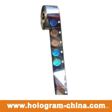 2D DOT Matrix Laser Hologram Hot Foil Stamping
