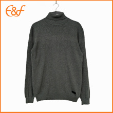 New Style Long Sleeve Turtleneck Sweater For Men