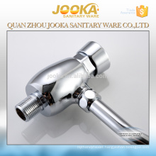 Toilet brass push button urinal flush valve