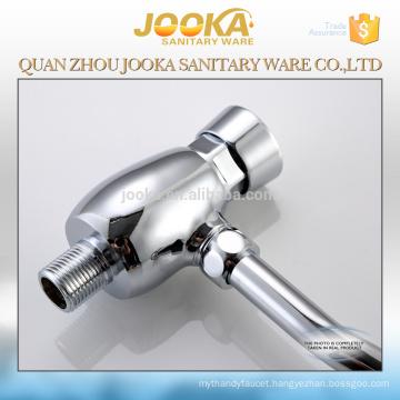 Toilet brass push button urinal flush valve