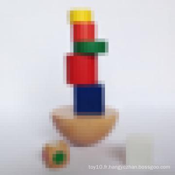 Brain Teaser IQ Puzzle Game Équilibre en bois pour cadeaux