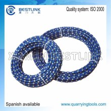 Stone Block Saw Cutting Diamond Wire Rope with Various Diameter