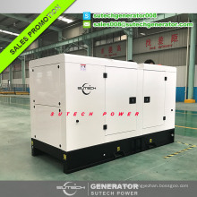 Super silent diesel generator 75kva price powered by UK engine 1104A-44TG2