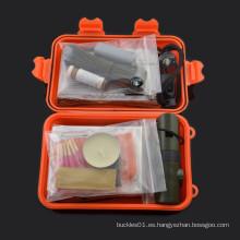 2015 chongfu al aire libre acampando lío kit kit de supervivencia personal militar para acampar