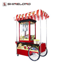 CE Commercial Flavored Commercial Popping Popcorn carrinho à venda