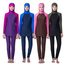 Femmes adultes de mode en gros nouveau design musulman maillots de bain islamique maillot de bain