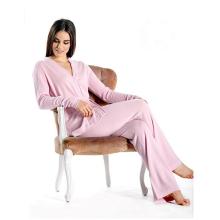 PK18A47HX Pure Cashmere Lounge e conjunto de pijama para mulheres