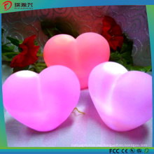 2016 Hot Selling Colorful Heart Shape LED Light