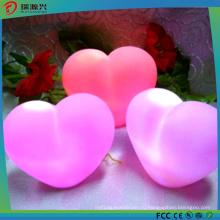 2016 горячий Продажа красочные сердца формы свет водить