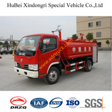 4.5ton Dongfeng Fire Sprinkler Truck Euro3