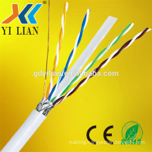 2017 factory cheap pirce 50ft feet cat6 cat6a 4 pair UTP FTP STP SFTP Network Cable Cat5e computer cable with CE approved