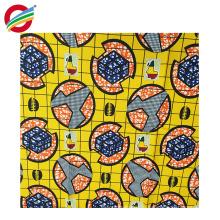 Чистые шаблоны полиэстер воска африканских отпечатки ткани на продажу
