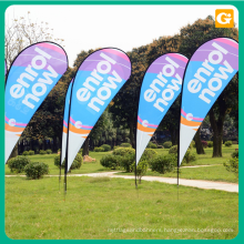 Wholesales double sided swooper flag,teardrop flag,feather flag