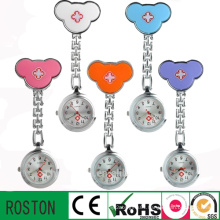 Japan Movement Silicon FOB Nurse Watch with Customer′s Design