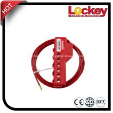 Bloqueo de cable de seguridad multiusos con cable