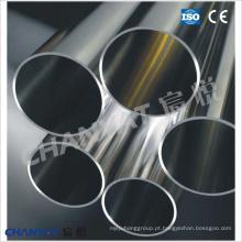 Tubo e tubo de liga de níquel sem costura (N04400, N06600, N08800, N08825, N06625, N10276)