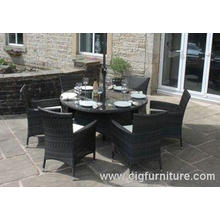 Household Outdoor Furnitures Dining Set for Garden With Par