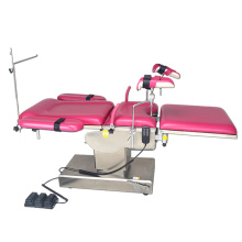 CE Multifunction electric birth delivery bed