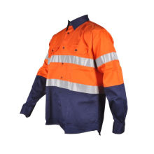 chemises minières réfléchissantes vêtements pas cher en gros