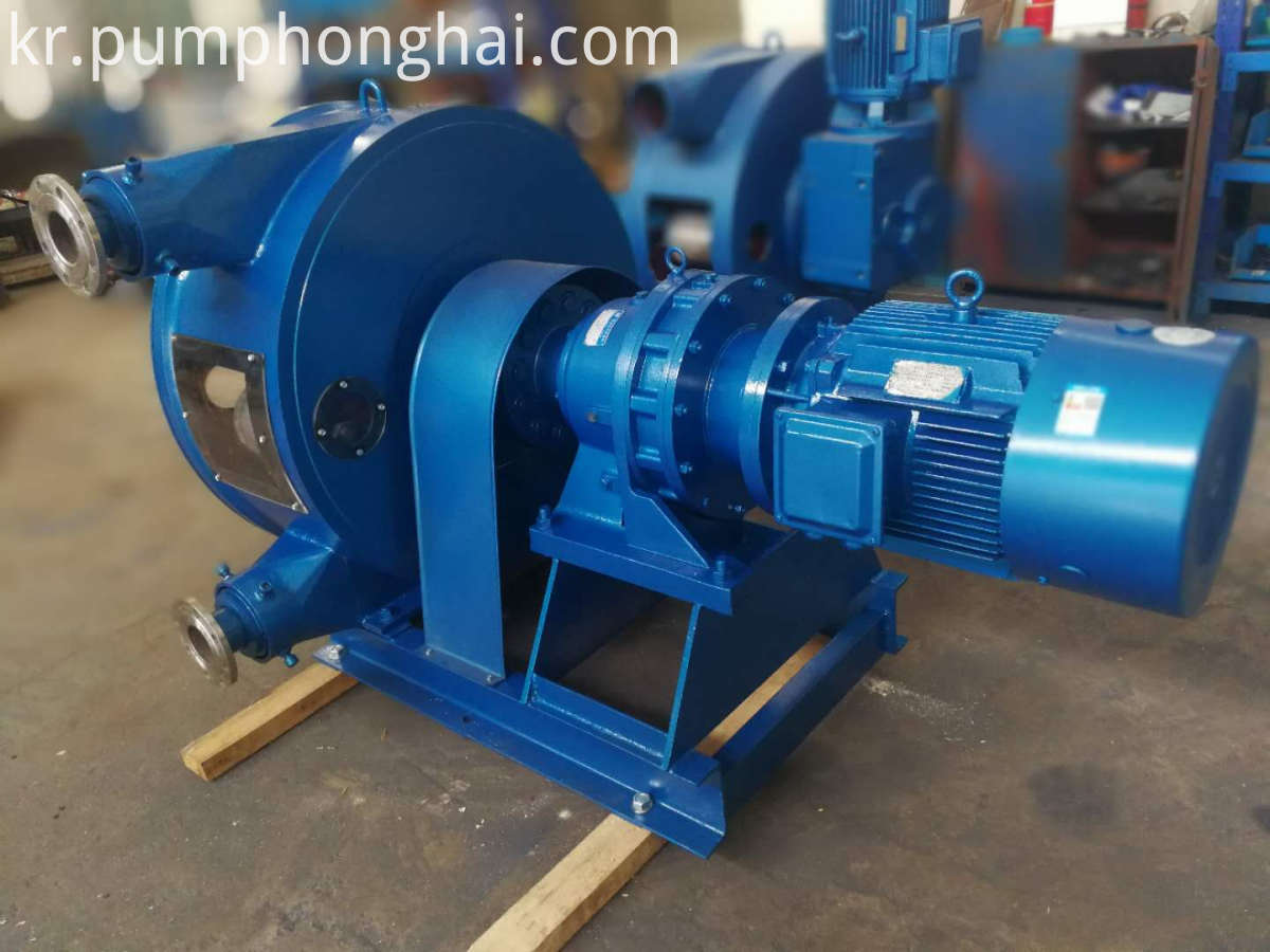 molasses transfer hose pump