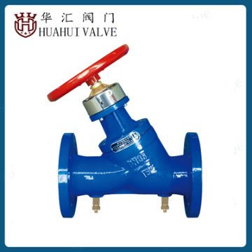 water balance valve for HVAC system