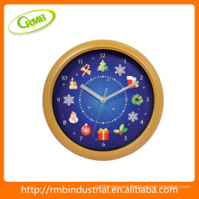 christmas wall clock(RMB)