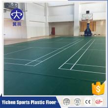 Alta eficiência badminton court mat atacado