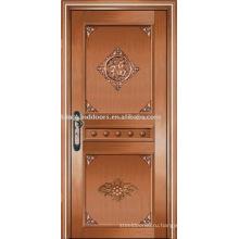 Роскошные медные двери Вилла наружные двери KK-720